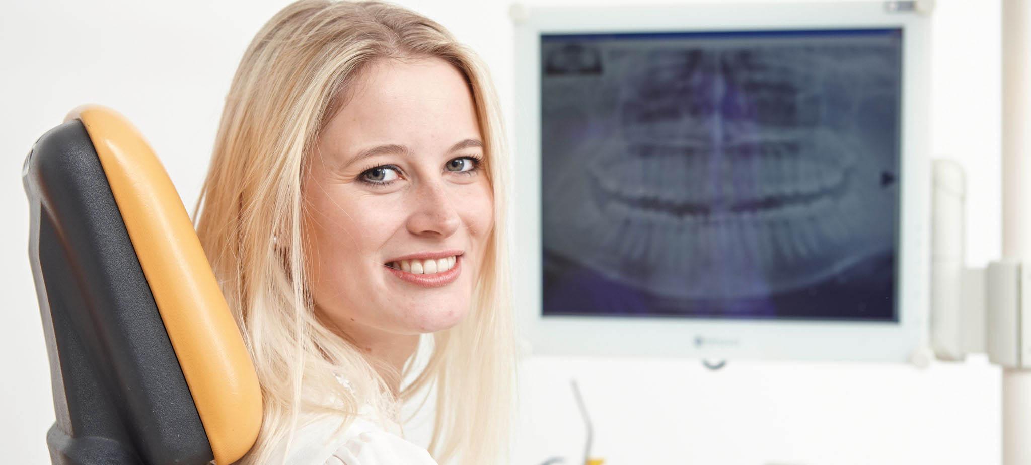 Zahnfarbene Füllungen